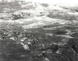 Dummy airfield near Wheeler Field, 1942.