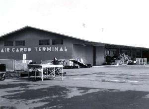 Air Cargo Terminal, Hilo Airport, 1950s.