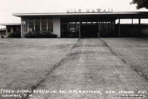 General Lyman Field, Hilo, Hawaii, December 15, 1953.