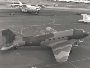 C-47 Gooney birds were based at Hickam AFB between 1950-1970, first for transportation (MATS) and then for pilot training.
