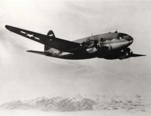 Hickam Air Force Base Curtiss C-46, 1950s.