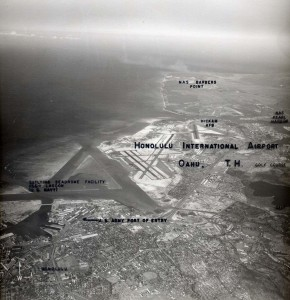 Honolulu International Airport, February 8, 1955.