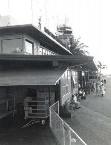 Terminal Building, Honolulu International Airport, 1950s.