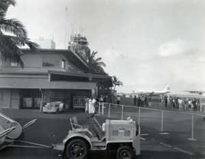 Honolulu International Airport, 1950s.