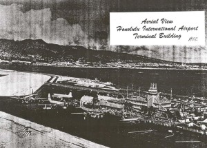 Aerial View, Honolulu International Airport, 1952.