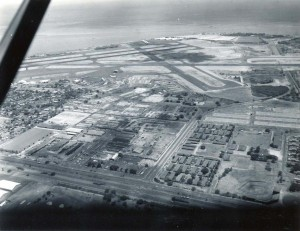 Honolulu International Airport, 1959, before construction began on new terminal.