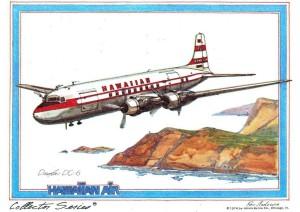 Hawaiian Airlines DC-6, 1958