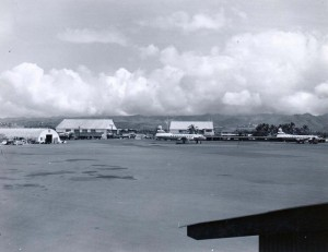 Honolulu International Airport complex 1959.