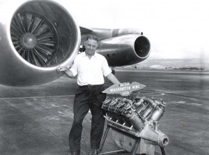 Washington Wing, Air National Guard, at Honolulu International Airport, 1959.