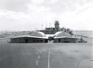 Honolulu International Airport, 1950s.