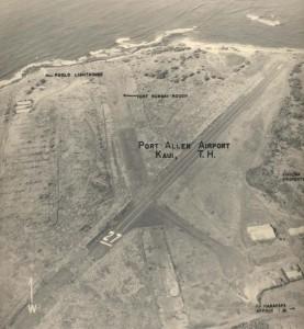 Port Allen Airport, Kauai, March 2, 1955.