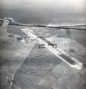 Lihue Airport, Kauai, 1950s