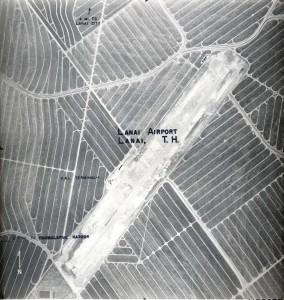 Lanai Airport, May 11, 1955.