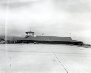 Kahului Airport, 1950s.