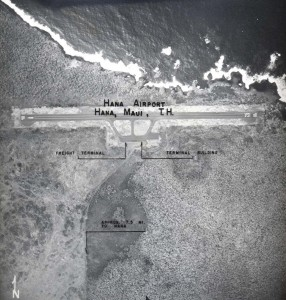 Hana Airport, Maui, May 11, 1955.