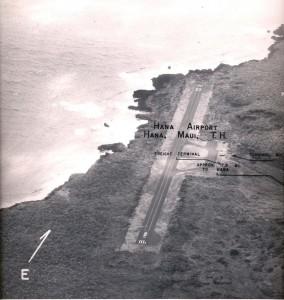 Hana Airport, Maui, June 1, 1955.