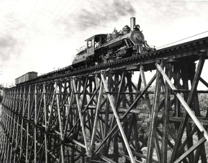 Kahului Railroad, Maui, 1950s.