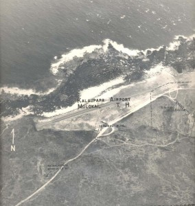 Kalaupapa Airport, Molokai, April 13, 1955.