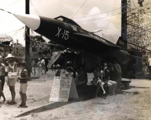 X-15 at Hickam Air Force Base, Hawaii, 1960s.