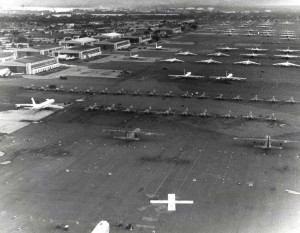 Hickam Air Force Base, Hawaii, January 1969.