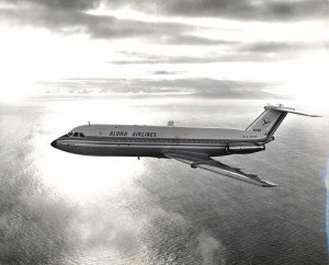 Aloha Airlines BAC 1-11 Alohajet, 1966.