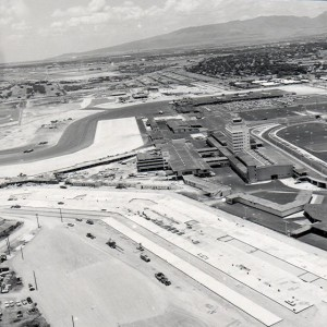 Construction at Honolulu International Airport.