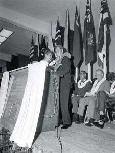 Dedication of new Honolulu International Airport Terminal, August 23, 1962.