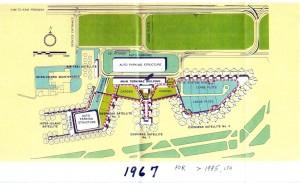 Honolulu International Airport Master Plan, 1967.