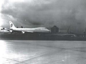 Pan American Airways at Honolulu International Airport, 1966.