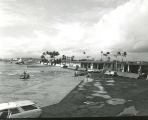 Honolulu International Airport, 1960s.