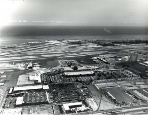 Honolulu International Airport, 1970s.