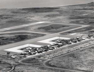 Keahole Airport, Kailua-Kona, Hawaii, 1970s.