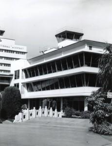 Honolulu International Airport Restaurant, 1970s.