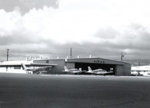 Pacific Flight Service, Honolulu International Airport 1970s.