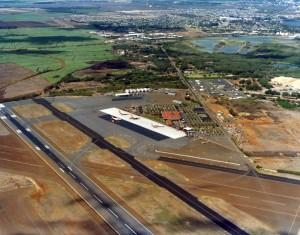 Kahului Airport, Maui, November 15, 1975.