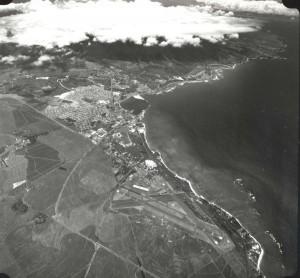Kahului Airport, Maui, July 1, 1975.