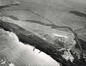 Kahului Airport, Maui, 1970s.