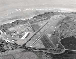 Kahului Airport, Maui, August 23, 1975.