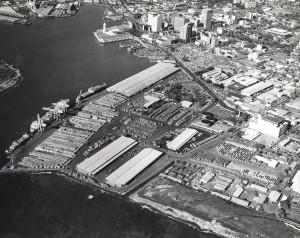 Honolulu Harbor Container Yard, 1973.