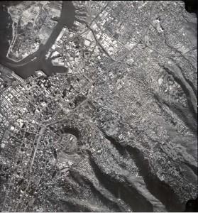 Sand Island and Downtown Honolulu, January 29, 1977.