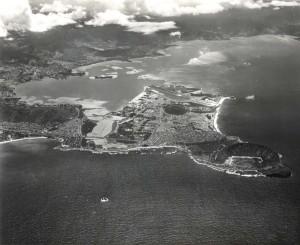 Mokapu Peninsula, Kaneohe Bay, Hawaii, home of the Marine Corps Air Station, 1973.