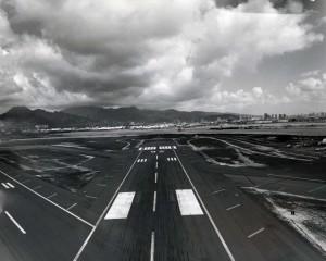 Runway 26, Honolulu International Airport, February 24, 1976.