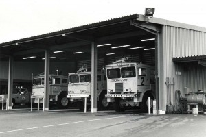Aircraft Rescue and Fire Fighting Station, Hilo Airport, Hawaii, 1985.