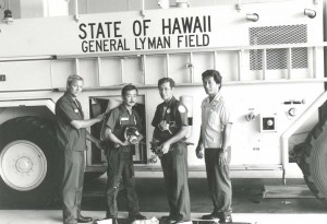 Aircraft Rescue and Fire Fighting Station, General Lyman Field, Hilo, Hawaii, 1985.