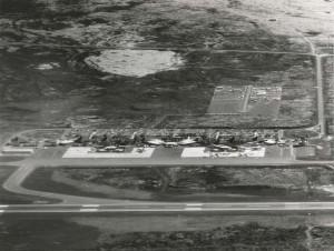Keahole Airport, Kailua-Kona, Hawaii, January 18, 1980.