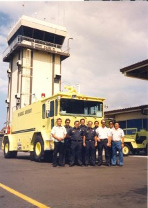 Aircraft Rescue and Fire Fighting Station, Keahole Airport, Kailua-Kona, Hawaii, 1983.