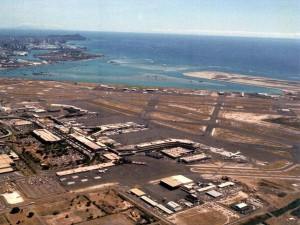 Honolulu International Airport, November 9, 1983.