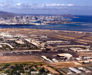 Honolulu International Airport, November 21, 1985.