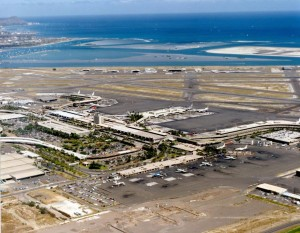 Honolulu International Airport, July 21, 1985.