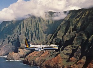Mid-Pacific Air operated from Honolulu International Airport, 1981-1988.